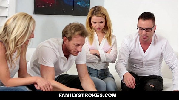 FamilyStrokes - Family Game Night Orgy (Alina West