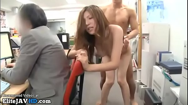 Japanese beautiful secretary fucked in public o...