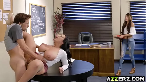 Hot librarian Sherdian loves huge hard dick