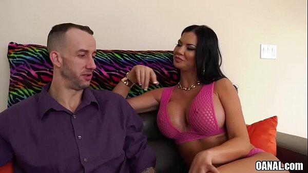 Silicone babe Jasmine Jae loves anal sex