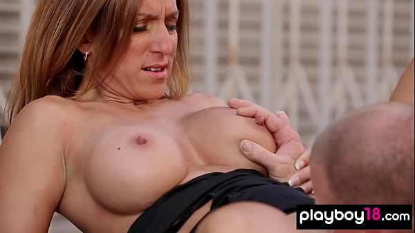 Busty amateur inked slut Anette licked and fuck...