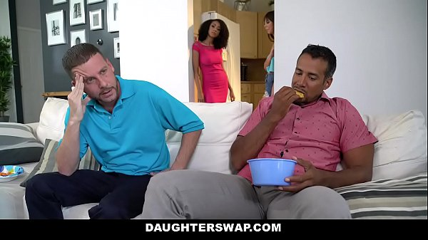 DaughterSwaps - Teen (Arianna Aimes) (Shae Celestine) Fucks Older Daddy