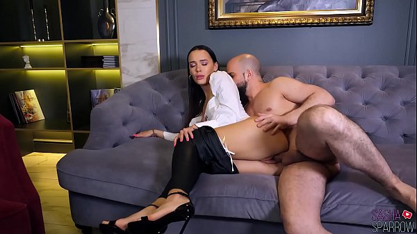 Sexy Brunette Blowjob and Sensual Ass Fucking -...
