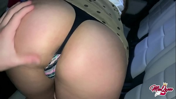 Quick Sex in the car with the best friend of my boyfriend and he cums inside me