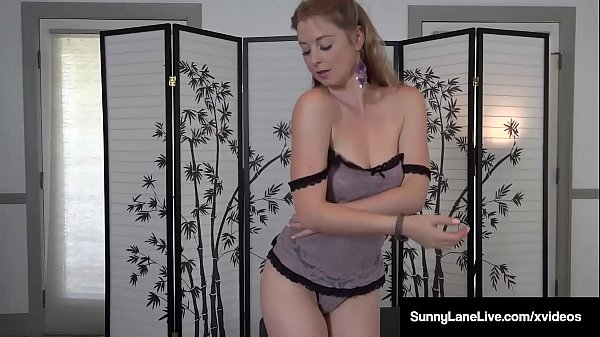 Sexy Sunny Lane Strips & Pats Her Pussy At Casting Call!