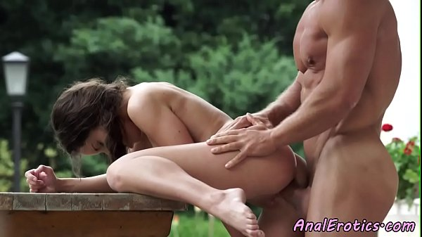 Glam eurobabe assfucked outdoors Thumb