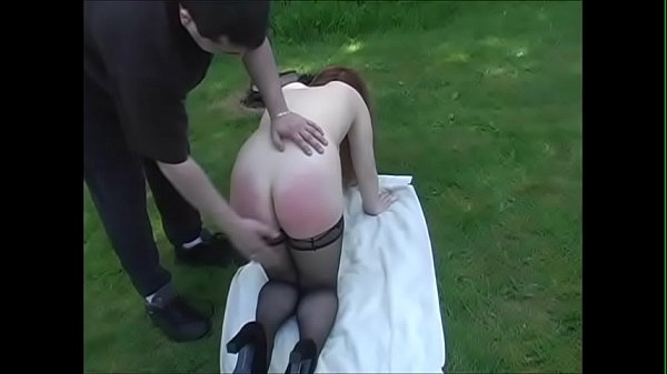 Spanking Roleplay - Outdoor spanking with a redhead MILF - JustBangMe.com.mp4 Thumb
