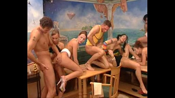 Kazakh Girl in Orgy
