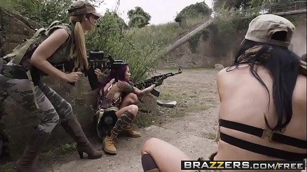 Brazzers - Pornstars Like it Big - Cock Of Duty A XXX Parody scene ...