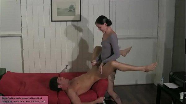 Step Sister Fucks His Ass LANCE HART MICHELLE PETERS (PANTYHOSE LEOTARD)