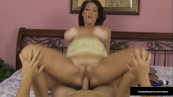 Busty HouseWife Charlee Chase Rides Cock After Hot Foot Rub