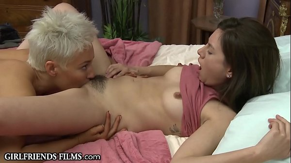 GirlfriendsFilms Blonde MILF Treats Teen Girl B...