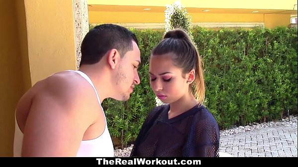 TheReaLWorkout - Slutty Brunette (Melissa Moore) Gets Fucked To Make The Team Thumb