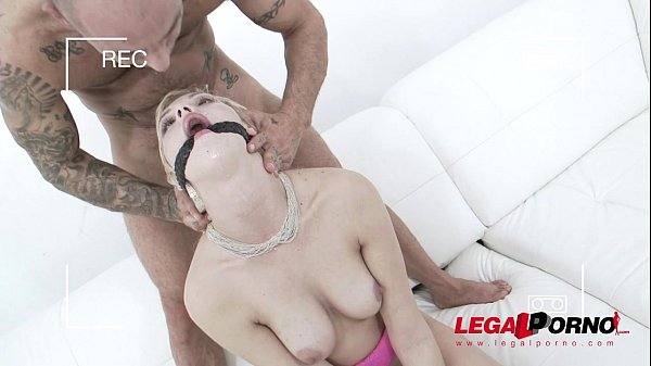 Kimber Delice double anal with 2 cocks (0% pussy DAP) SZ1073 Thumb