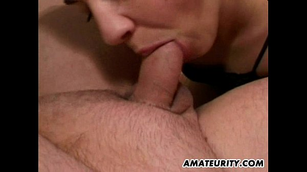 Amateur Milf orgy with many cocks and facials