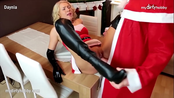 MyDirtyHobby - Holiday surprise anal for busty ...