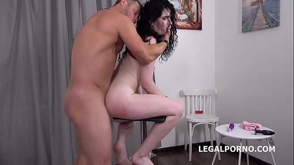 Mr. Anderson's Anal Casting with Black Angel Ba...