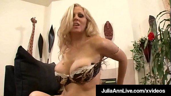 Mega Milf Julia Ann Gets Her Majestic Mature Mu...