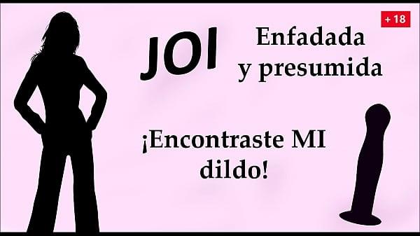 Enfadada y presumida. ¡Encontraste MI dildo! JOI en español.