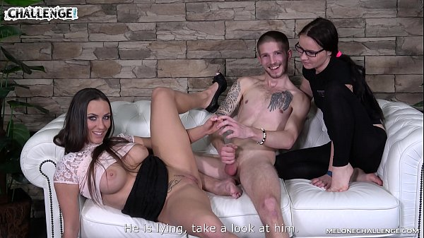 Lucky Newcomer has a Chance to Prove Himself in Front of Two Whores