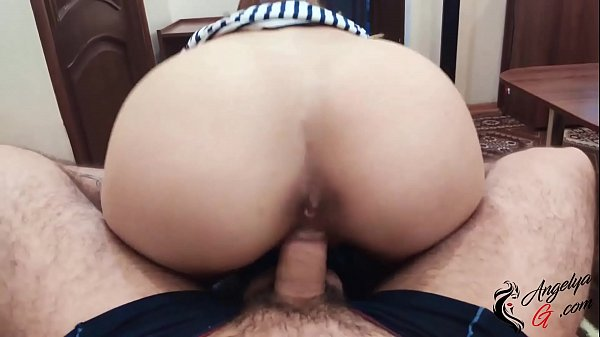 Cute Porn Actrees Passionate Blowjob and Cowgirl on Big Dick Fan