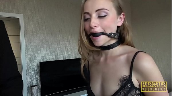 PASCALSSUBSLUTS - Lady Bug gagging on cock befo...
