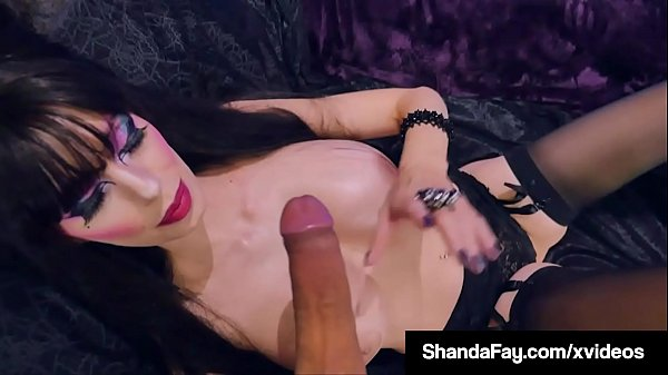 Busty Housewife Shanda Fay In Gothic Cosplay While Fucking