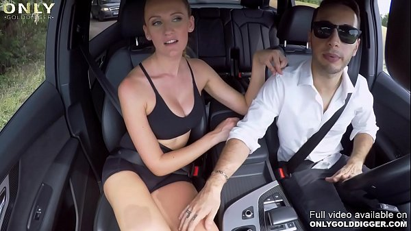 Only3x (GoldDigger) brings you - Gold Digger Audi Porking with Linda Leclair and Raul Costa