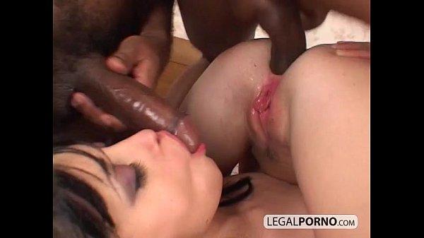 Two big black dicks fuck two sexy brunettes HC-4-04 Thumb
