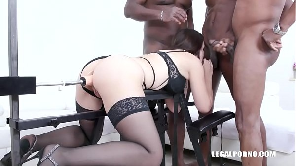 Obedient slut Zara Lick enjoys anal sex with black guys IV505