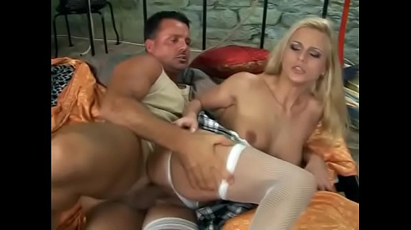 Kinky schoolgirl nympho gets her round ass destroyed doggystyle