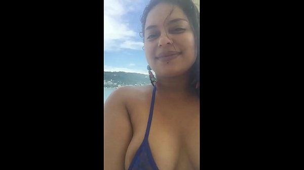 """Meche Candela """"Natural Tits In Acapulco"""""""