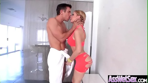 Anal Hardcore Sex With Hot Slut Big Ass Oiled G...