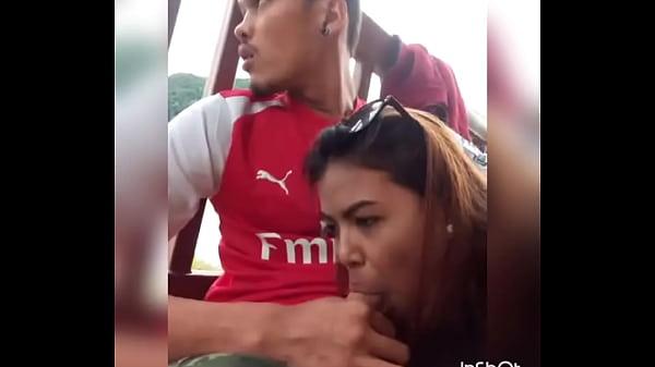 Naughty girl sucking