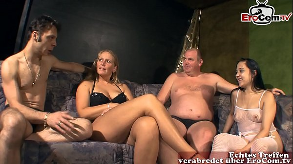 Deutsche amateur swinger party mit normalen Fra...