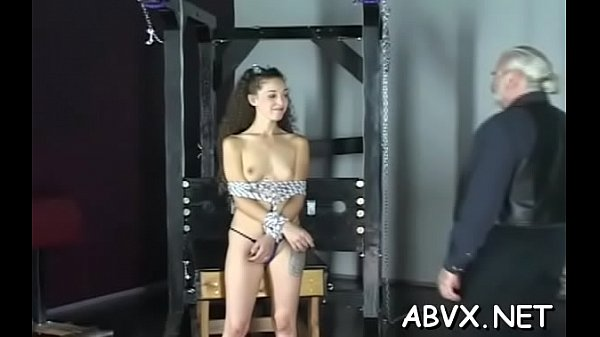 Appetizing woman got naked and started masturbating