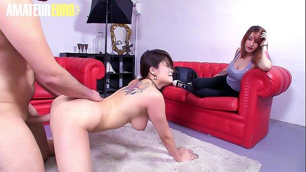 AMATEUR EURO - Naughty Asian Miyuki Son Fucks W...