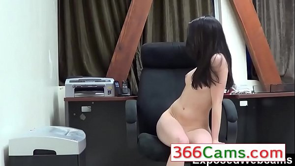 Teen Webcam Show at the Office - More Videos on 366Cams.com Thumb
