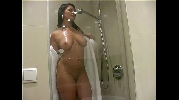 Shower Masturbation Natural MILF