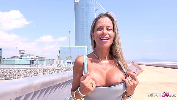 GERMAN SCOUT - FIT BIG TITS LATINA MILF HELENA ...