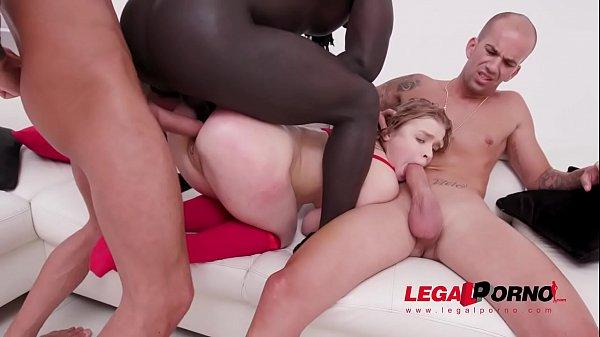Alexa Flexy balls deep fucking 3on1 with DP, DA...