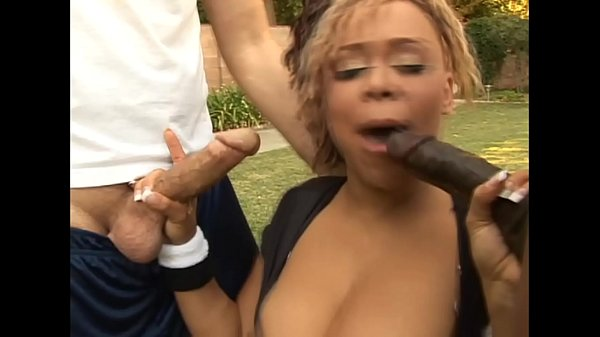 Big booty ebony porn star gets hot anal double ...