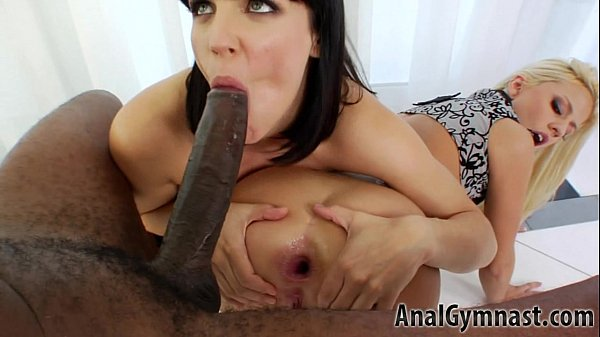 The Art of Threesome Anal and Licking Proxy Pai...