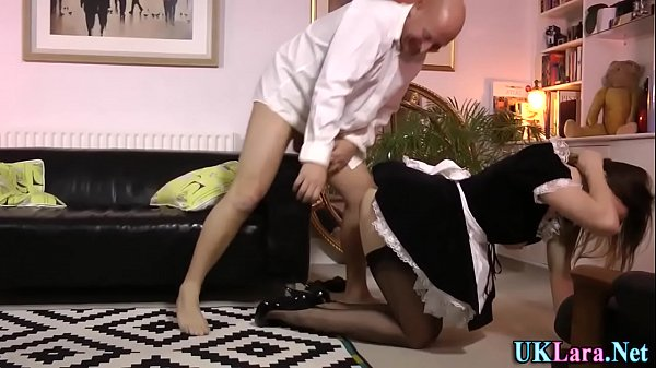 British mature creampie