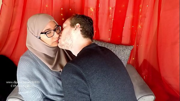 Arab milf breastfeeding her new husband