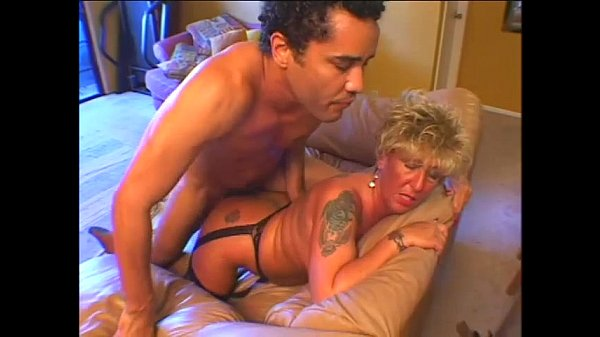 Hot sexy granny masturbates and get fucked before a big load