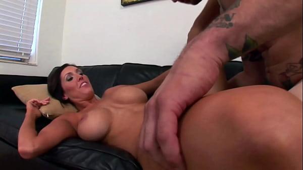 Cumshot on the beautiful tits