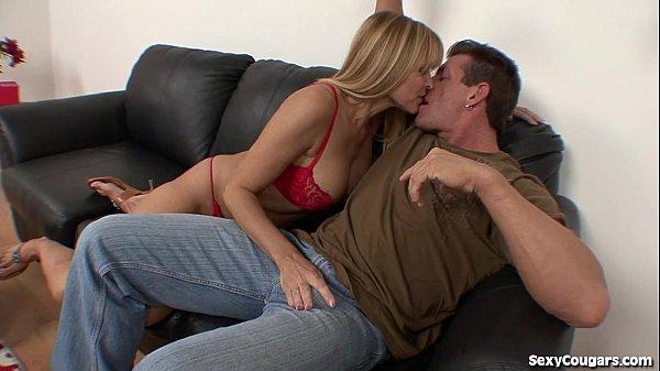 Horny MILF Babe Loves y. Men