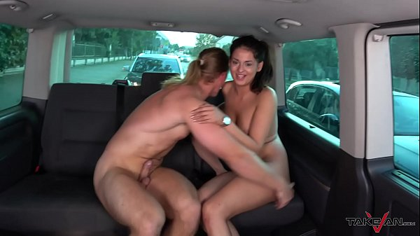 Hungarian slut take a ride with naughty stranger to get cum on ass hole Thumb