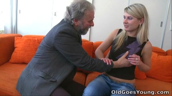 Old Goes Young - Vika's boyfriend found her fucking an old guy